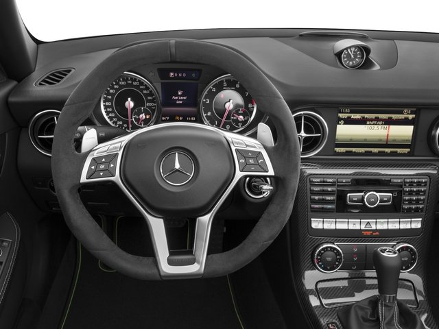 2015 Mercedes-Benz SLK-Class Prices and Values Roadster 2D SLK55 AMG V8 driver's dashboard