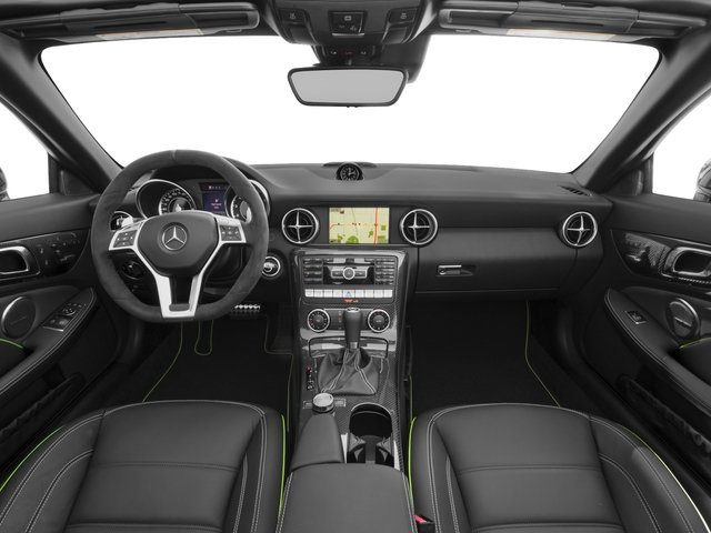 2015 Mercedes-Benz SLK-Class Prices and Values Roadster 2D SLK55 AMG V8 full dashboard