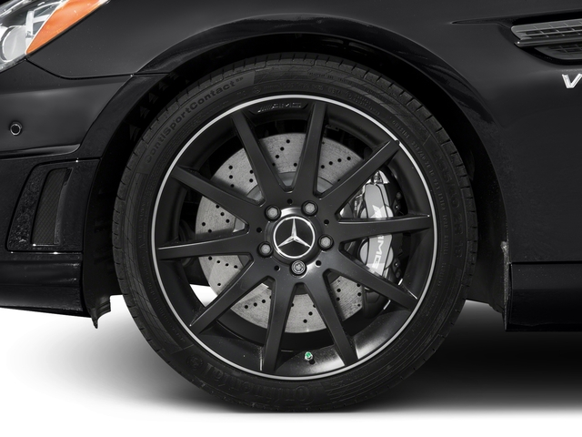2015 Mercedes-Benz SLK-Class Prices and Values Roadster 2D SLK55 AMG V8 wheel