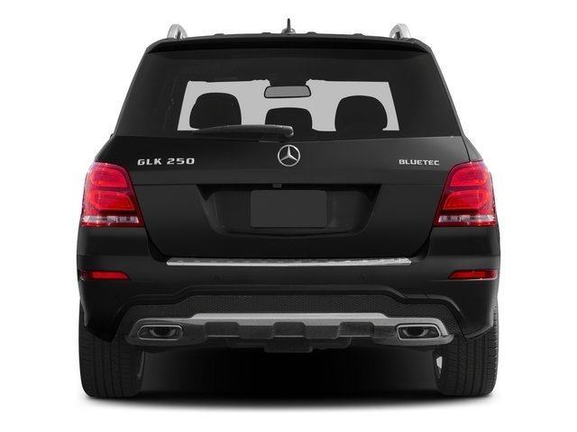 2015 Mercedes-Benz GLK-Class Prices and Values Utility 4D GLK250 BlueTEC AWD I4 rear view