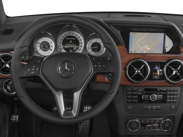 2015 Mercedes-Benz GLK-Class Prices and Values Utility 4D GLK250 BlueTEC AWD I4 driver's dashboard
