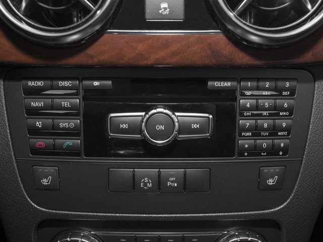 2015 Mercedes-Benz GLK-Class Prices and Values Utility 4D GLK250 BlueTEC AWD I4 stereo system