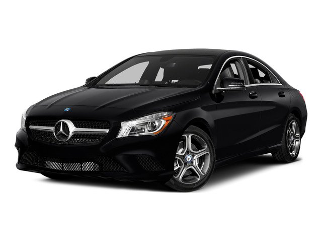 2015 Mercedes-Benz CLA-Class Prices and Values Sedan 4D CLA250 I4 Turbo side front view