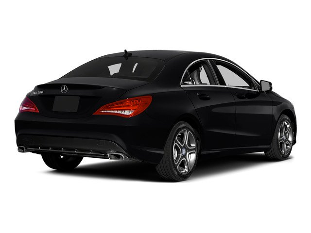 2015 Mercedes-Benz CLA-Class Prices and Values Sedan 4D CLA250 I4 Turbo side rear view