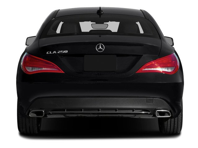 2015 Mercedes-Benz CLA-Class Prices and Values Sedan 4D CLA250 I4 Turbo rear view
