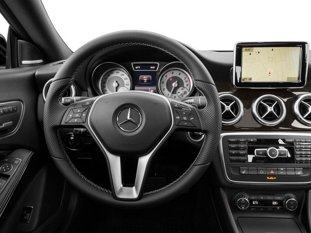 2015 Mercedes-Benz CLA-Class Prices and Values Sedan 4D CLA250 I4 Turbo driver's dashboard