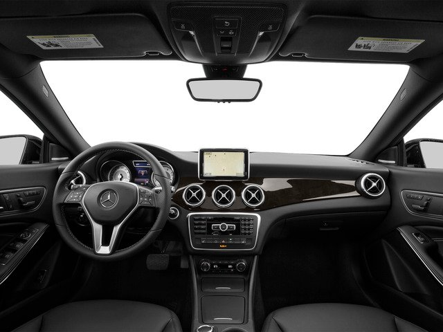 2015 Mercedes-Benz CLA-Class Prices and Values Sedan 4D CLA250 I4 Turbo full dashboard