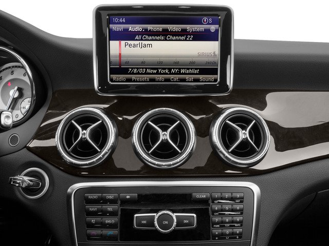 2015 Mercedes-Benz CLA-Class Prices and Values Sedan 4D CLA250 I4 Turbo stereo system