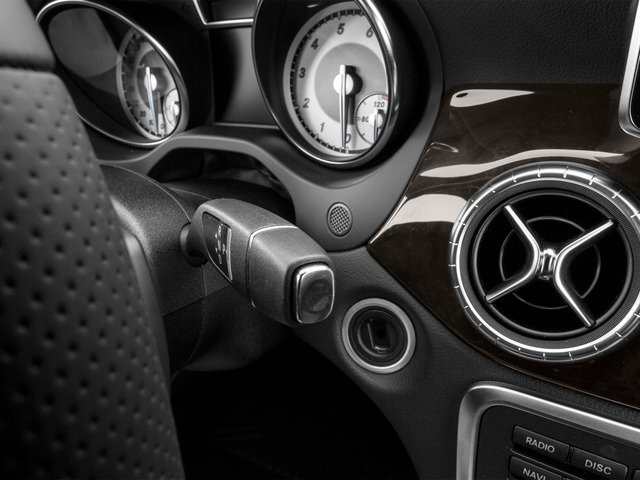 2015 Mercedes-Benz CLA-Class Prices and Values Sedan 4D CLA250 I4 Turbo center console