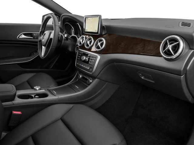 2015 Mercedes-Benz CLA-Class Prices and Values Sedan 4D CLA250 I4 Turbo passenger's dashboard
