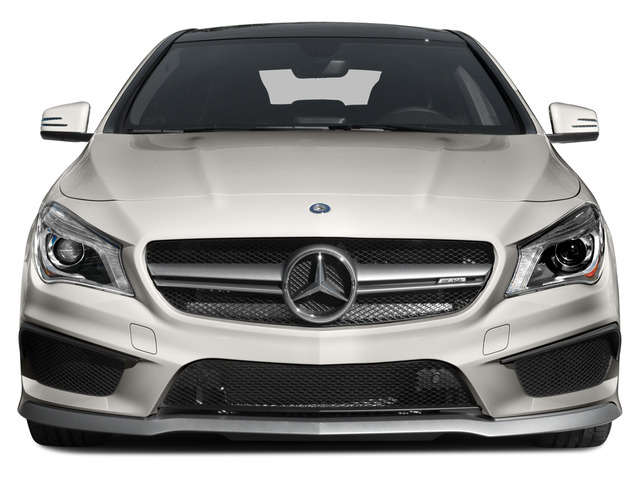 2015 Mercedes-Benz CLA-Class Pictures CLA-Class Sedan 4D CLA45 AMG AWD I4 Turbo photos front view