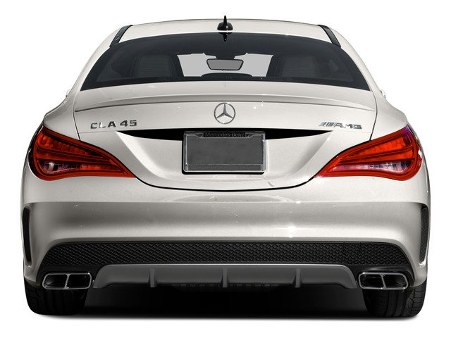 2015 Mercedes-Benz CLA-Class Prices and Values Sedan 4D CLA45 AMG AWD I4 Turbo rear view