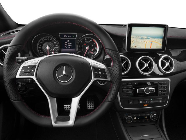 2015 Mercedes-Benz CLA-Class Prices and Values Sedan 4D CLA45 AMG AWD I4 Turbo driver's dashboard