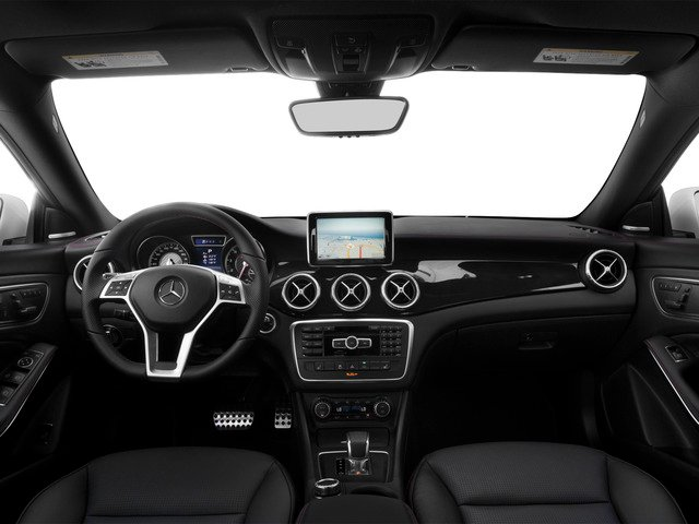 2015 Mercedes-Benz CLA-Class Prices and Values Sedan 4D CLA45 AMG AWD I4 Turbo full dashboard
