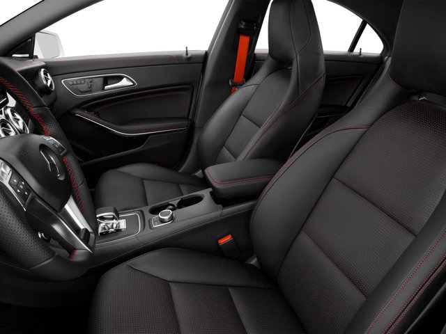 2015 Mercedes-Benz CLA-Class Prices and Values Sedan 4D CLA45 AMG AWD I4 Turbo front seat interior