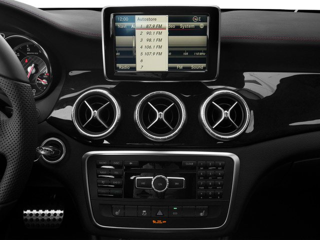 2015 Mercedes-Benz CLA-Class Prices and Values Sedan 4D CLA45 AMG AWD I4 Turbo stereo system