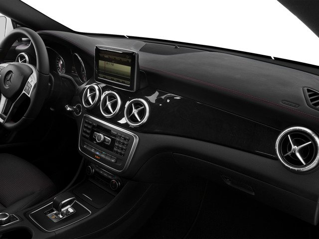 2015 Mercedes-Benz CLA-Class Prices and Values Sedan 4D CLA45 AMG AWD I4 Turbo passenger's dashboard