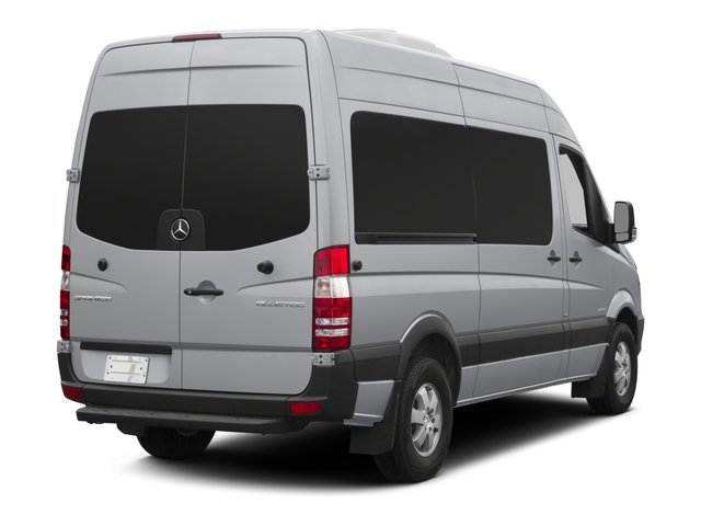 2015 Mercedes-Benz Sprinter Passenger Vans Prices and Values Passenger Van High Roof 4WD side rear view
