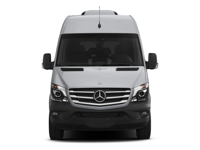 2015 Mercedes-Benz Sprinter Passenger Vans Prices and Values Extended Passenger Van High Roof 4WD front view