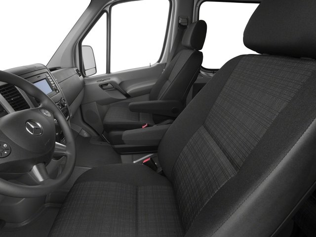 2015 Mercedes-Benz Sprinter Passenger Vans Prices and Values Extended Passenger Van High Roof 4WD front seat interior