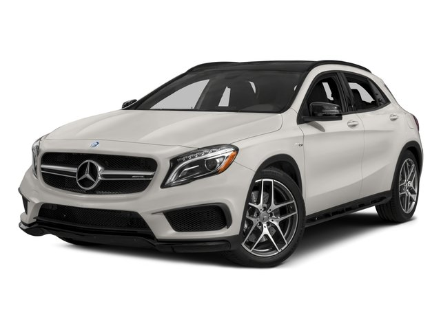 2015 Mercedes-Benz GLA-Class Pictures GLA-Class Utility 4D GLA45 AMG AWD I4 Turbo photos side front view
