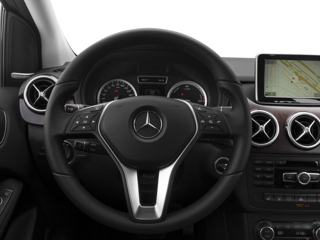 2015 Mercedes-Benz B-Class Prices and Values Hatchback 5D Electric Drive driver's dashboard