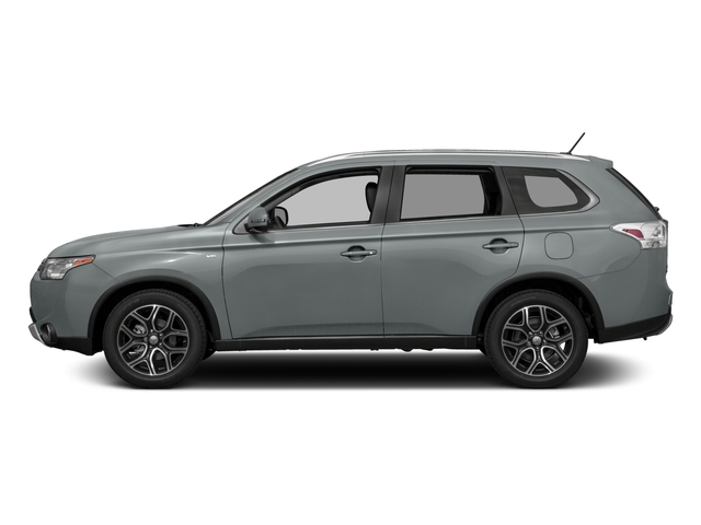 2015 Mitsubishi Outlander Prices and Values Utility 4D ES 2WD I4 side view