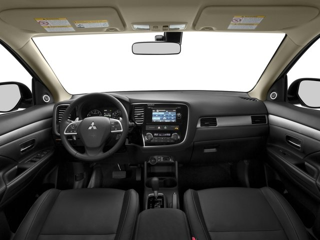 2015 Mitsubishi Outlander Prices and Values Utility 4D ES 2WD I4 full dashboard