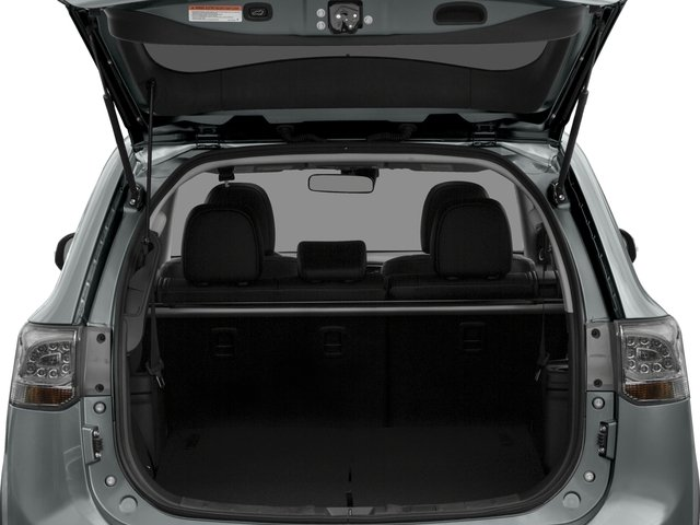 2015 Mitsubishi Outlander Prices and Values Utility 4D ES 2WD I4 open trunk