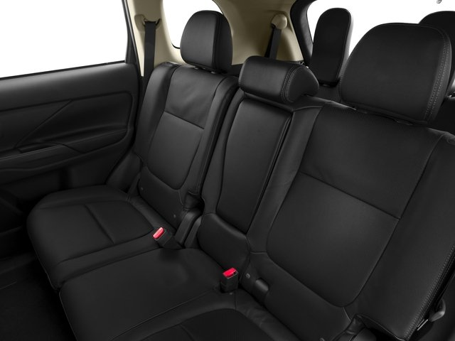 2015 Mitsubishi Outlander Prices and Values Utility 4D ES 2WD I4 backseat interior