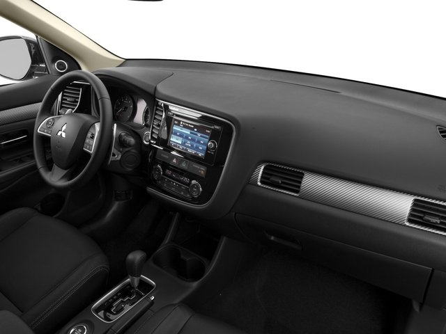 2015 Mitsubishi Outlander Prices and Values Utility 4D ES 2WD I4 passenger's dashboard