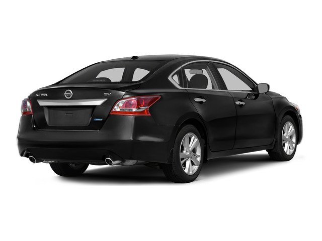 2015 Nissan Altima Prices and Values Sedan 4D SV I4 side rear view