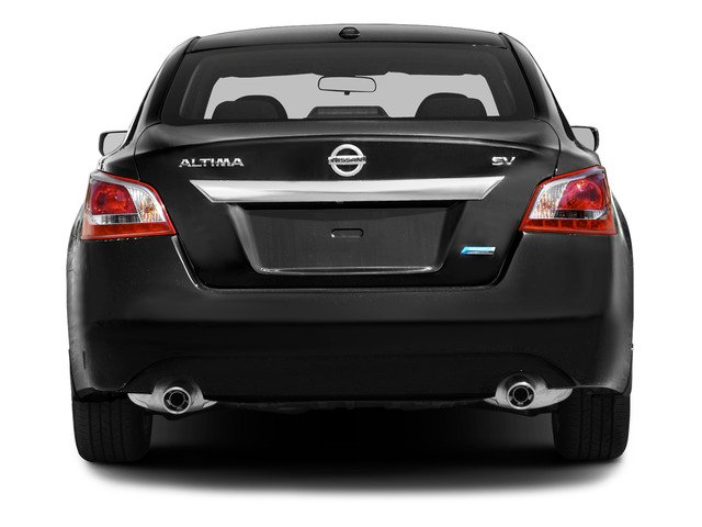 2015 Nissan Altima Prices and Values Sedan 4D SV I4 rear view