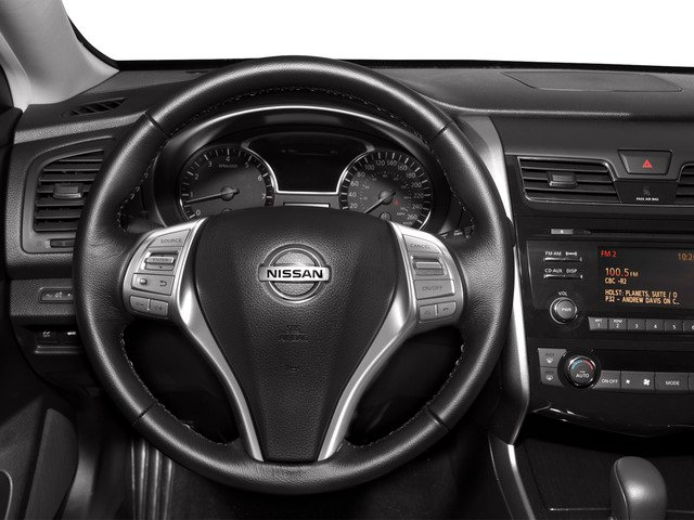 2015 Nissan Altima Prices and Values Sedan 4D SV I4 driver's dashboard