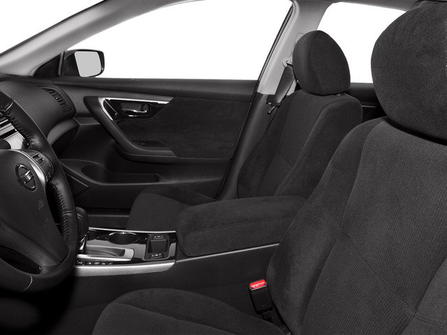2015 Nissan Altima Prices and Values Sedan 4D SV I4 front seat interior