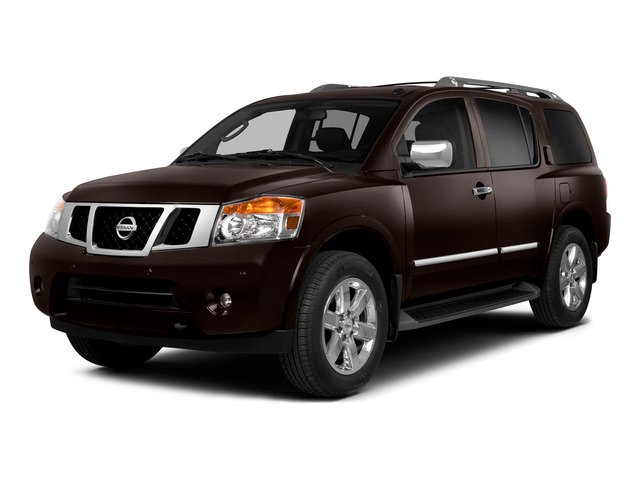 2015 Nissan Armada Prices and Values Utility 4D SL 2WD V8