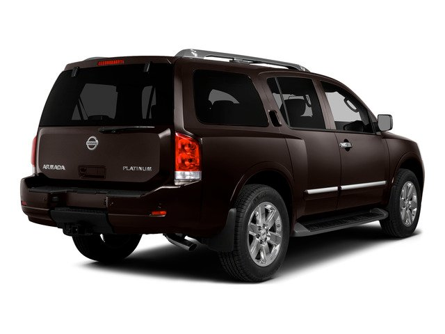 2015 Nissan Armada Pictures Armada Utility 4D Platinum Reserve 4WD V8 photos side rear view