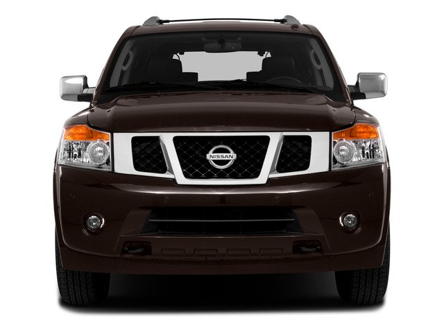 2015 Nissan Armada Prices and Values Utility 4D SL 2WD V8 front view