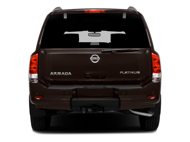 2015 Nissan Armada Prices and Values Utility 4D SL 2WD V8 rear view