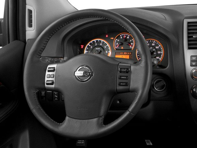2015 Nissan Armada Prices and Values Utility 4D SL 2WD V8 driver's dashboard