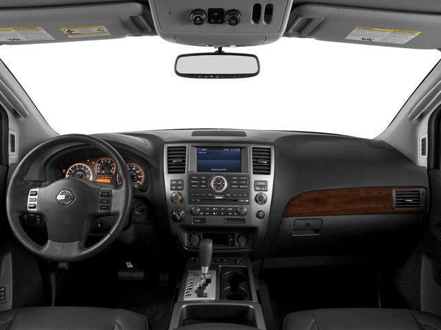 2015 Nissan Armada Prices and Values Utility 4D SL 2WD V8 full dashboard