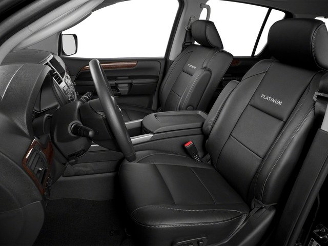 2015 Nissan Armada Prices and Values Utility 4D SL 2WD V8 front seat interior