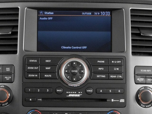 2015 Nissan Armada Prices and Values Utility 4D SL 2WD V8 stereo system