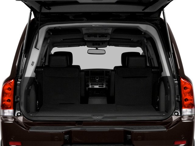 2015 Nissan Armada Prices and Values Utility 4D SL 2WD V8 open trunk