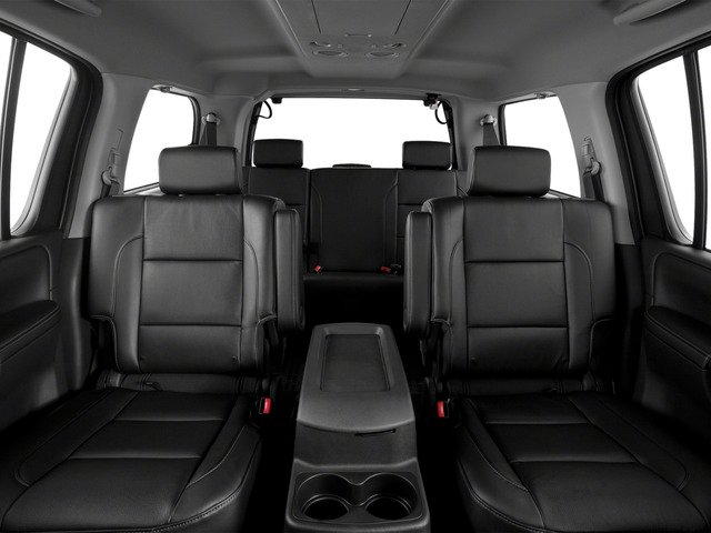 2015 Nissan Armada Prices and Values Utility 4D SL 2WD V8 backseat interior