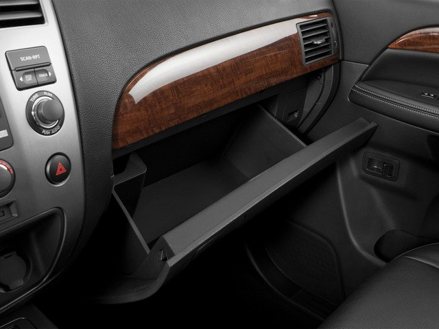2015 Nissan Armada Prices and Values Utility 4D SL 2WD V8 glove box