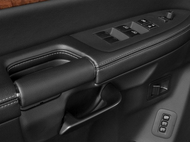 2015 Nissan Armada Prices and Values Utility 4D SL 2WD V8 driver's side interior controls