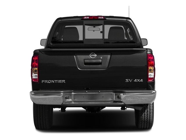 2015 Nissan Frontier Prices and Values Crew Cab SL 2WD rear view
