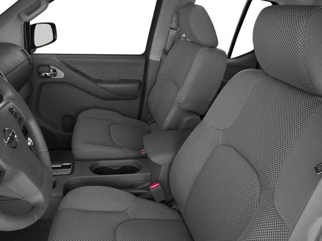 2015 Nissan Frontier Prices and Values Crew Cab SL 2WD front seat interior