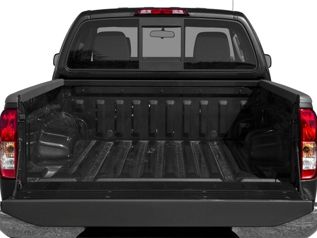 2015 Nissan Frontier Prices and Values Crew Cab SL 2WD open trunk